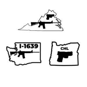 i1639 Certificate with Oregon CHL and Virginia Permit